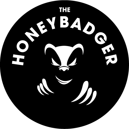 The Honey Badger logo